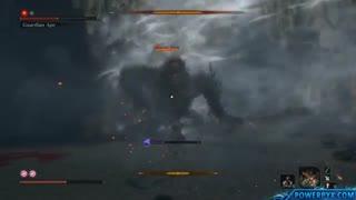 مبارزه با باس مبدل Guardian Ape در Sekiro: Shadows Die Twice