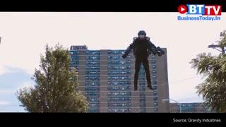 پرینتر سه بعدی و لباس مرد آهنین با بازوانی آتشین و دارای قدرت پرواز!