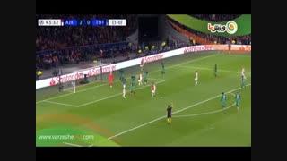 خلاصه بازی آژاکس 2 - تاتنهام 3 (19-2-1398)