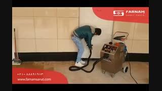بخارشوی صنعتی- شستشوی سطوح