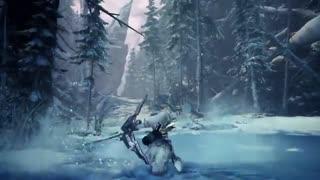 تریلر گیمپلی بستهی الحاقی جدید Monster Hunter World با عنوان Iceborne