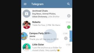 تلگرام به نسخه ۵.۶ آپدیت شد