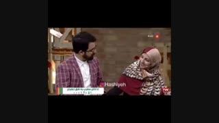 عاشقانه های زوج ناشنوا در برنامه ی زنده (عاشقی)