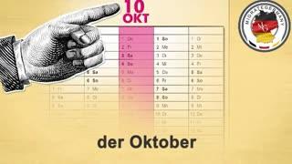 آموزش ماه و فصل به آلمانی - میگریت جرمنی