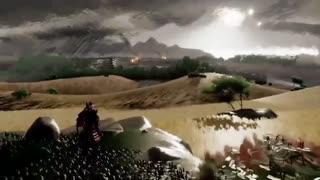 بازسازی تریلر Ghost of  Tsushima در بازی Dreams