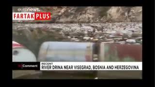رودخانهای مثل آینه که حالا میزبان ۲۰۰ تن زباله در روز است