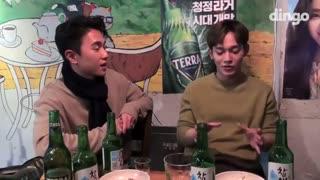برنامه Tipsy Live با حضور چن [ EXO - Chen]  و زیرنویس فارسی