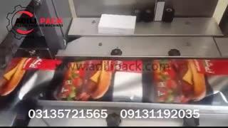 دستگاه بسته بندی همبرگر ،ماشین سازی عدیلی