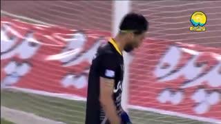 گل اول استقلال به سپیدرود توسط مهدی قائدی