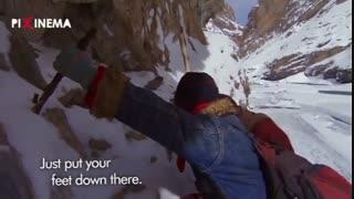 مستند سیاره انسان ها ، شرکت در مدرسه با عبور از کیلومترها یخ !