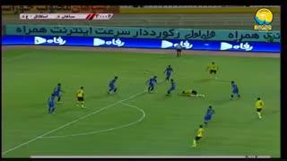 خلاصه دیدار سپاهان 2_0 استقلال خوزستان (هفته پایانی لیگ برتر)