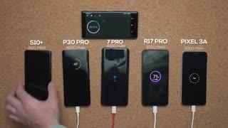 سرعت شارژ کدامیک سریعتر است – P30 Pro، OnePlus 7 Pro، Galaxy S10+ و Pixel 3A