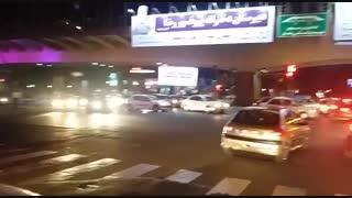 شادی هواداران پرسپولیس در شب قهرمانی این تیم
