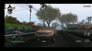 نسخه گرافیکی  بازی جی تی آی سن آندریاس  اندروید  gta sa apk + فوق فشرده