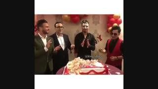 جشن  تولد خلیلزاده با حضور هنرمندان و ورزشکاران