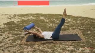 تمرینات فشرده شکم با ورزش پیلاتس برای بانوان