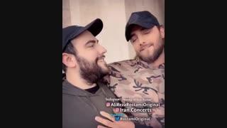 """مصاحبه علیرضا رستمی و امیر مقاره""""شب اول"""""""