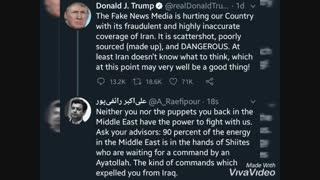 پاسخ استاد رائفی پور به توئیت دونالد ترامپ