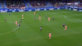 گل اول بارسلونا به ایبار توسط مسی