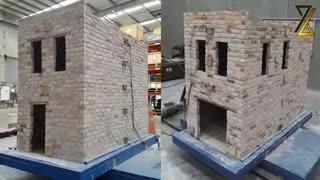 تست لرزه ای ساختمان مصالح بنایی|آموزش های کاربردی مهندسی عمران|پیکج طراحی سازه