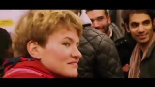 یه اتفاق جالب در متروی پاریس، وقتی همه خوابالود سر کار میروند !!!