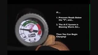 آموزش شارژ گاز کولر ماشین [زیر 5 دقیقه]