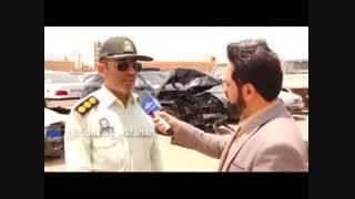 دستگیری راننده پورشه جنجالی