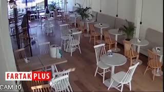 صحنه غیرمنتظرهای که خدمتکاران رستوران با آن روبرو شدند!