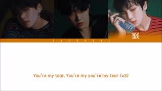 BTS (방탄소년단) - OUTRO: TEAR (Color Coded Lyrics Eng/Rom/Han)