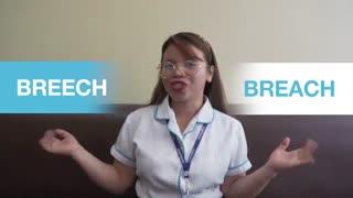 """آموزش نکات انگلیسی - کلمات مشابه - قسمت بیستم  : """"BREACH"""" and """"BREECH"""""""