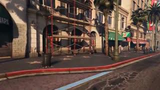 جدید ترین ویدیوی جذاب بازی GTA 5 با فناوری گرافیکی DXR