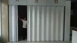 درب ریلی pvc  - پارتیشن گستر