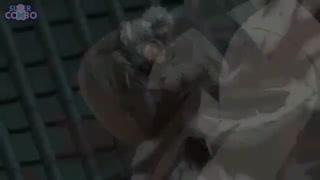 مبارزه گینتوکی با ابورو از انیمه گینتاما