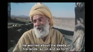 حکایت سعدی از بازرگان طمعکار (برشی از فیلم ایران سرای من است)