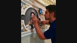 نقاشی و پتینه کاری ساختمان جباری در تهران