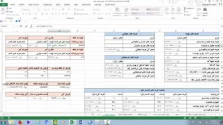 محاسیات مالی در طرح کسب و کار با اکسل