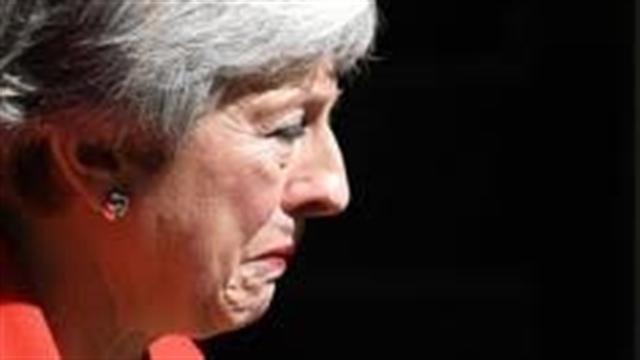 """استعفای اشک الود """"ترزا می"""" نخست وزیر بریتانیا"""