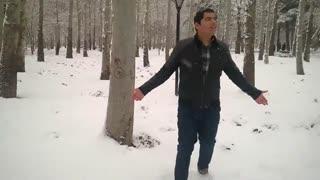 موزیک ویدیو گوله های برف امیر تتلو
