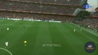 خلاصه بازی بارسلونا 1_2 والنسیا (فینال جام حذفی اسپانیا)