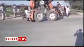 تفریح عجیب کشاورزان پاکستانی
