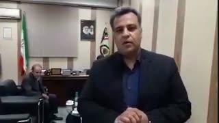 اولین تصاویر از حضور نجفی در پلیس آگاهی تهران بزرگ