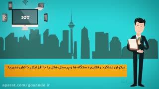موشن گرافیک ( اینترنت اشیا - گردشگری ) وزارت ارتباطات و فن اوری اطلاعات