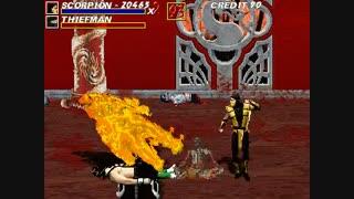 11 دقیقه گیم پلی بازی مورتال کمبت Mortal Kombat Unlimited برای کامپیوتر_یک بازی متفاوت از سری مورتال کمبت با  کیفیت 4KHD