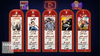 پنج فیلم پرفروش هفته - ۸ خرداد ۹۸