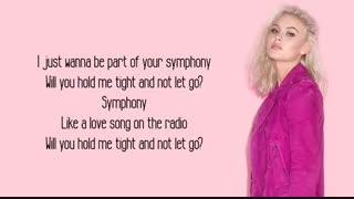 Symphony (Lyrics).Zara Larsson