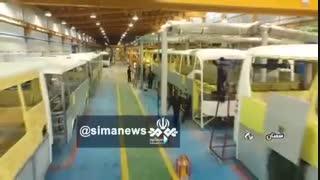 حیرت کارشناسان از اتوبوس های تولید ایران