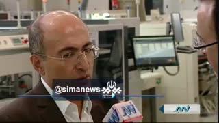 گزارش ویژه خبر شبکه ی جام جم از خودکفایی ایران در صنعت قطعه سازی توسط گروه تولیدی کروز