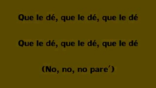 Nicky Jam & Rauw Alejandro - Que Le De (lyrics)