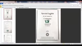 دانلود کتاب کامل زبان تخصصی کامپیوتر special english for the students of computer منوچهر حقانی - 235 صفحه