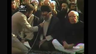 خاطره رهبر انقلاب از آخرین ملاقات با امام خمینی (ره)